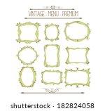 doodle frames | Shutterstock .eps vector #182824058