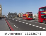 westminster bridge in london ... | Shutterstock . vector #182836748