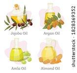 jojoba and argan  amla and... | Shutterstock .eps vector #1828369352