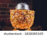 Shisha With Fruit Bowl With...