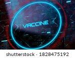 covid 19 coronavirus vaccine... | Shutterstock . vector #1828475192