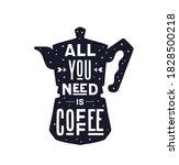Coffee. Italian Coffee Pot With ...