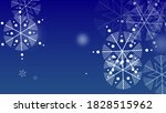 snowflakes christmas background....   Shutterstock .eps vector #1828515962