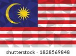 low poly malaysia flag vector... | Shutterstock .eps vector #1828569848
