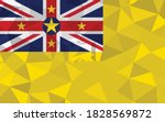 low poly niue flag vector... | Shutterstock .eps vector #1828569872