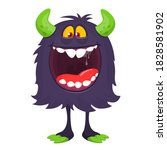 Scary Cartoon Monster....