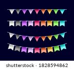 set of realistic isolated... | Shutterstock .eps vector #1828594862