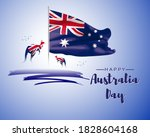 vector illustration of happy...   Shutterstock .eps vector #1828604168