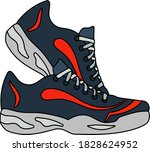 icon of fitness sneakers....