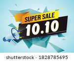 super sale 10. 10 word concept...
