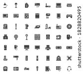 electronic devices vector icons ... | Shutterstock .eps vector #1828820495