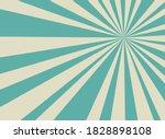 sunlight retro horizontal... | Shutterstock .eps vector #1828898108