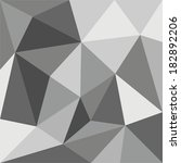 grey triangle vector background ... | Shutterstock .eps vector #182892206