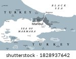 the bosporus or bosphorus ... | Shutterstock .eps vector #1828937642