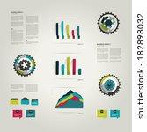 infographic set elements. | Shutterstock .eps vector #182898032
