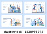 accountant office manager web... | Shutterstock .eps vector #1828995398