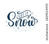 vector lettering illustration... | Shutterstock .eps vector #1829014955