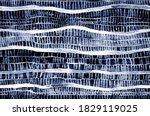Abstract Pattern Stripes Indigo ...
