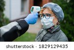 A Doctor Measures The...