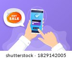 hot sale banner. pay by credit...