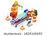 doctor surgeon healthcare nurse ...   Shutterstock .eps vector #1829145695