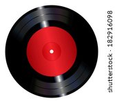 an illustration of a vinyl... | Shutterstock .eps vector #182916098