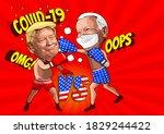 Caricature Cartoon Of  Donald...