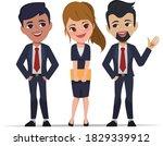 business people in office...   Shutterstock .eps vector #1829339912