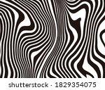 halftone bitmap lines retro...   Shutterstock .eps vector #1829354075