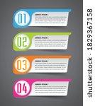 modern text box template ...   Shutterstock .eps vector #1829367158