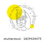 confirmed flight line icon....   Shutterstock .eps vector #1829434475