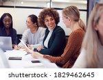 Group Of Businesswomen...