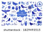 vector set of chinese asian...   Shutterstock .eps vector #1829493515