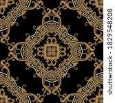 baroque seamless pattern....   Shutterstock .eps vector #1829548208