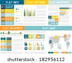 flat ui infographic yellow