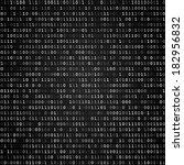 twinkle binary code screen... | Shutterstock .eps vector #182956832