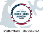 happy birthday united states... | Shutterstock .eps vector #1829569265