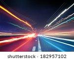 Urban Traffic Light Trails  ...