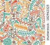abstract flower background...   Shutterstock .eps vector #182962325