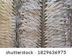 Palm Tree Woven Pattern....