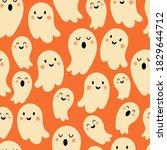seamless pattern for halloween... | Shutterstock .eps vector #1829644712