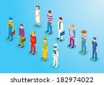 activos,astronauta,jefe,jefe,ciudadano,colección,constructor,detalles,médico,empleado,expertos,figuras,ha,isométrica,trabajo