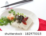 tofu and preserved egg   Shutterstock . vector #182975315
