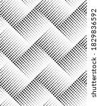 seamless halftone pattern for...   Shutterstock .eps vector #1829836592