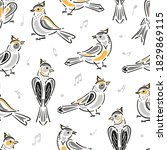 Birds And Musical Notes...