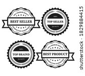 retro vintage badge and label...   Shutterstock .eps vector #1829884415