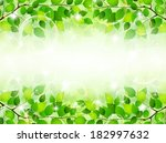plant leaf background | Shutterstock .eps vector #182997632