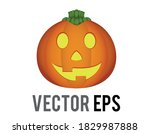 the isolated vector orange... | Shutterstock .eps vector #1829987888