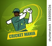 cricket mania | Shutterstock .eps vector #183000236