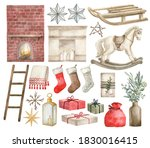 Watercolor Winter Home Decor...